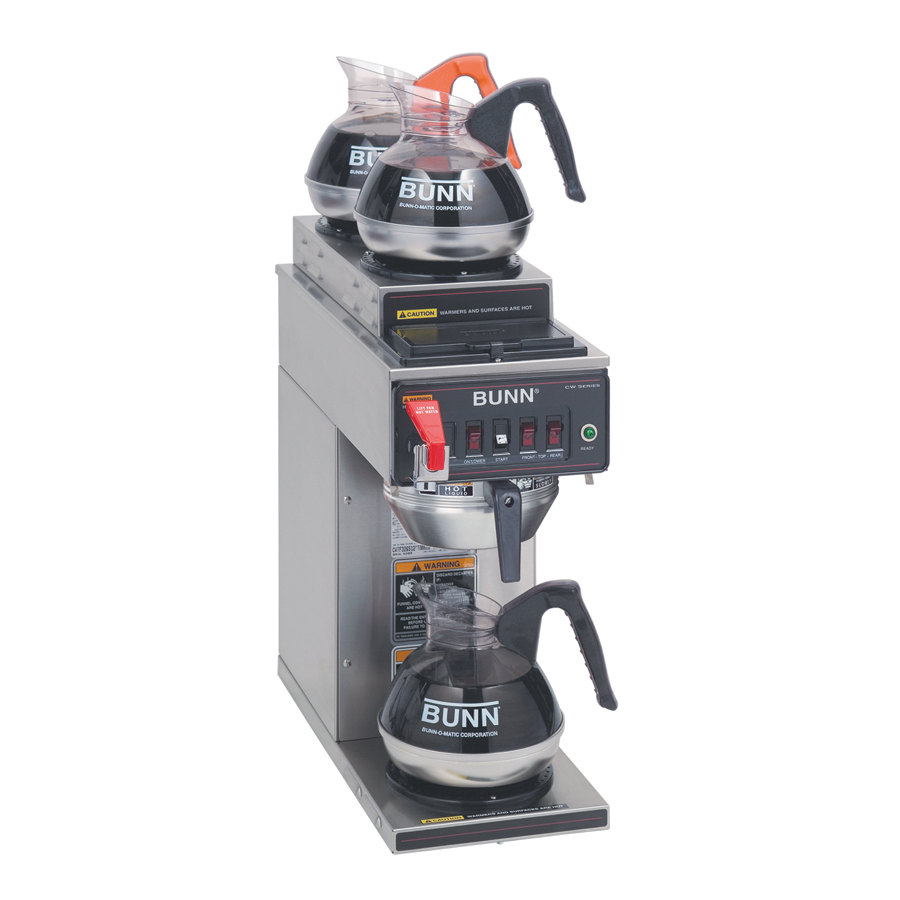 Bunn 2 top Digital Coffee Brewer